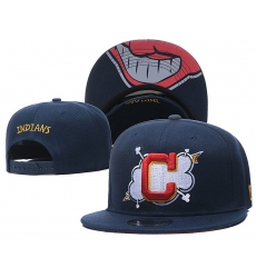MLB Cleveland Indians Hats 001