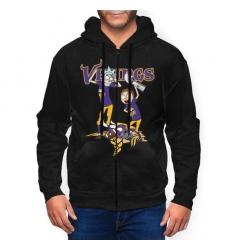 Viking Men's Zip Hooded Sweatshirt