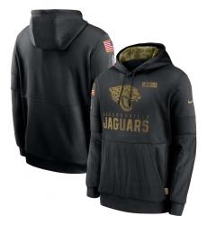 Men's NFL Jacksonville Jaguars 2020 Salute To Service Black Pullover Hoodie