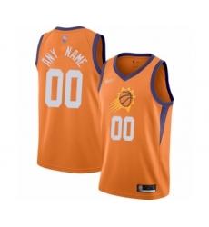 Youth Phoenix Suns Customized Swingman Orange Finished Basketball Jersey - Statement Edition