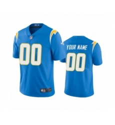 Los Angeles Chargers Custom Powder Blue 2020 Vapor Limited Jersey