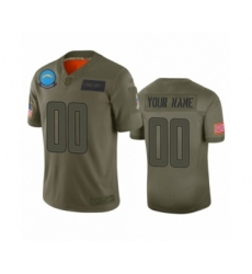 Youth Los Angeles Chargers Customized Camo 2019 Salute to Service Limited Jersey