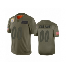 Youth Pittsburgh Steelers Customized Camo 2019 Salute to Service Limited Jersey