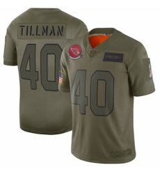 Women's Arizona Cardinals #40 Pat Tillman Limited Camo 2019 Salute to Service Football Jersey