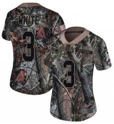 Women's Nike Dallas Cowboys #4 Dak Prescott Camo Rush Realtree Limited NFL Jersey